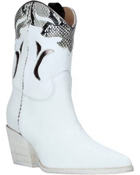 Biele topánky Mally
