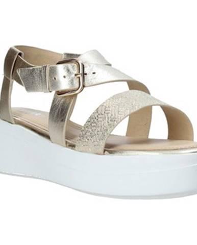 Zlaté sandále Impronte