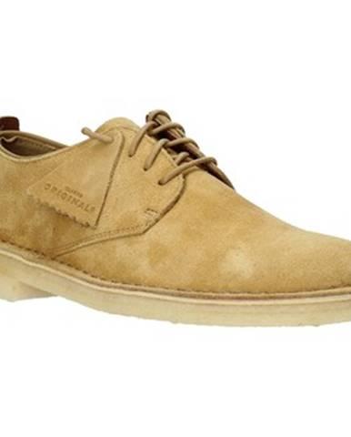 Žlté topánky Clarks