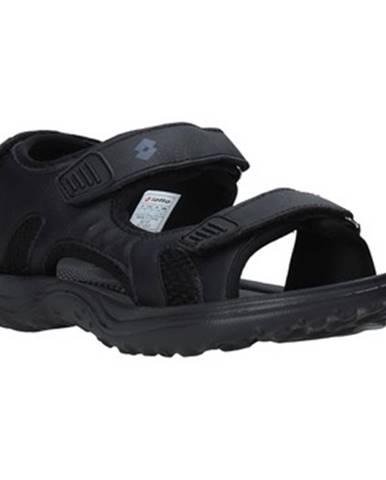 Čierne športové sandále Lotto