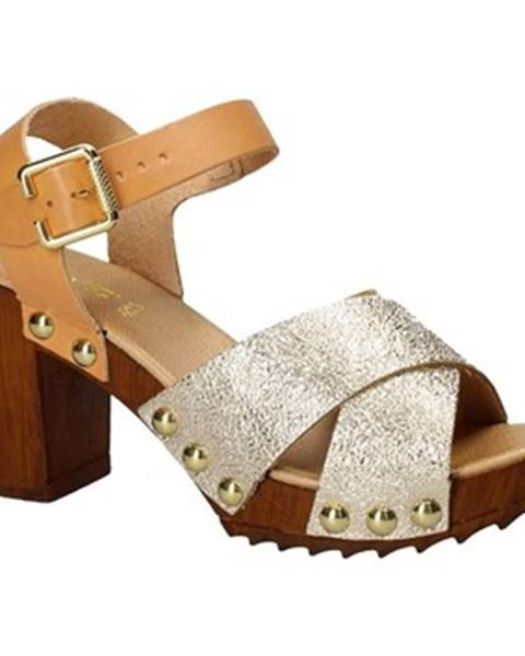Žlté sandále Keys
