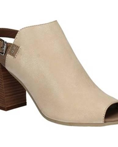 Béžové sandále Mally