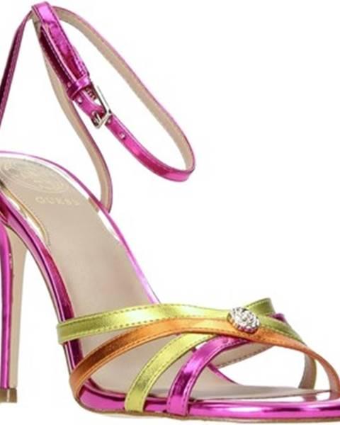 Fialové sandále Guess
