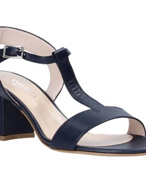 Modré sandále Casanova