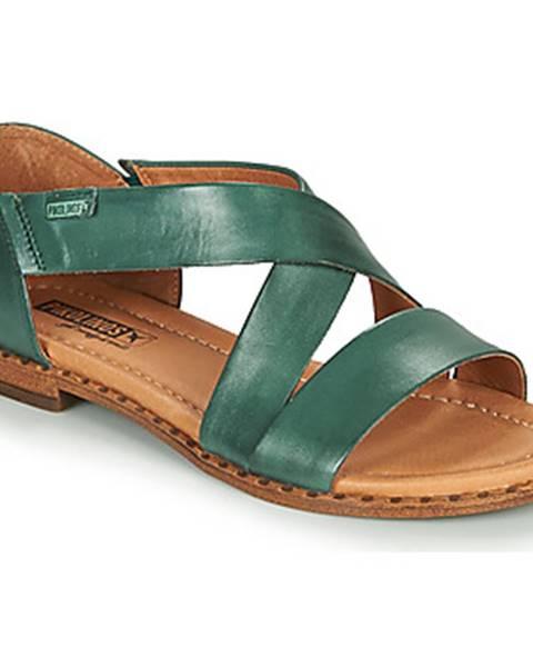 Modré sandále Pikolinos