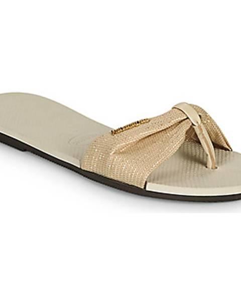 Béžové topánky Havaianas