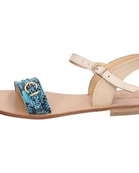 Viacfarebné sandále Calpierre