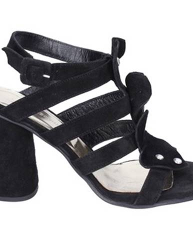 Čierne sandále Sergio Cimadamore