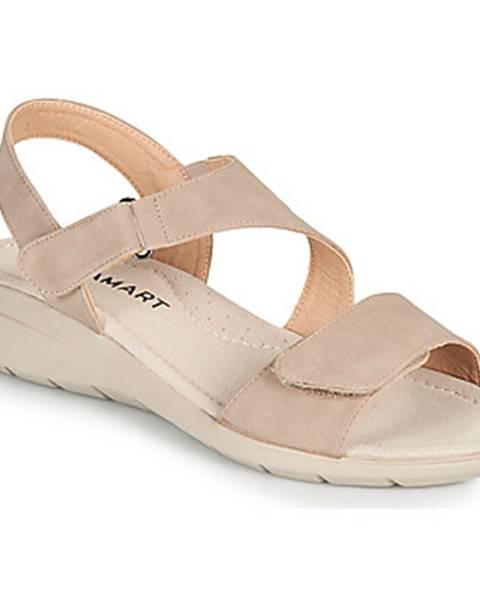 Béžové sandále Damart