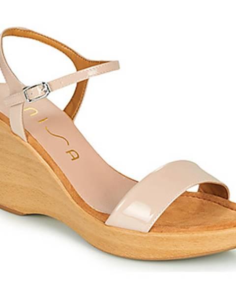 Ružové sandále Unisa