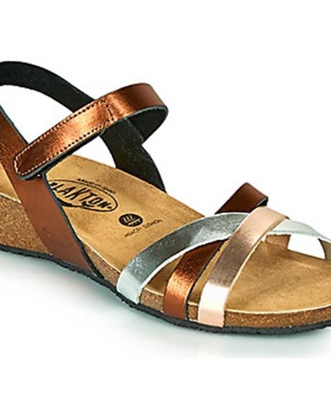 Zlaté sandále Plakton
