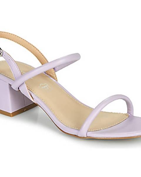Fialové sandále Vanessa Wu