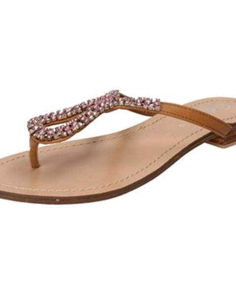 Hnedé sandále Get It