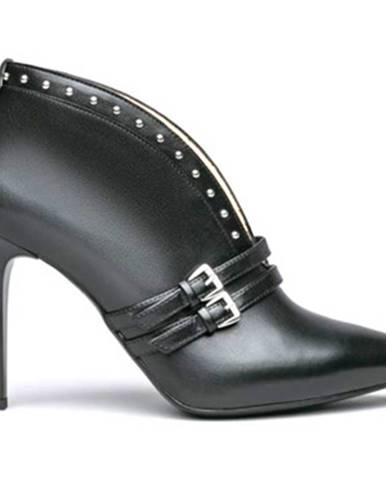 Čierne čižmy NeroGiardini