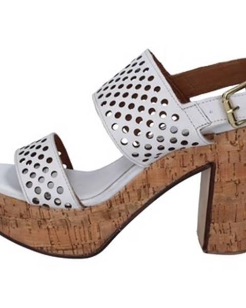 Biele sandále Shocks