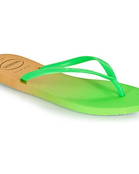 Biele topánky Havaianas