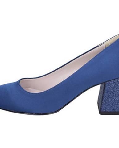 Modré lodičky Olga Rubini