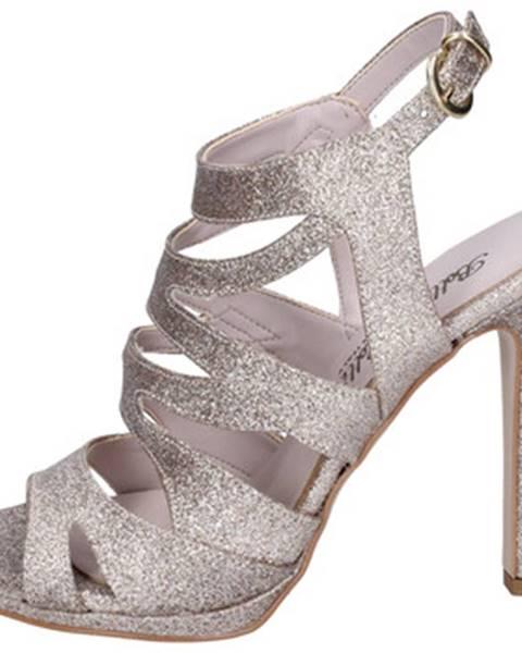 Béžové sandále Bottega Lotti