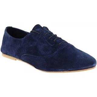 Derbie Leonardo Shoes  936-80 CROSTA BLU