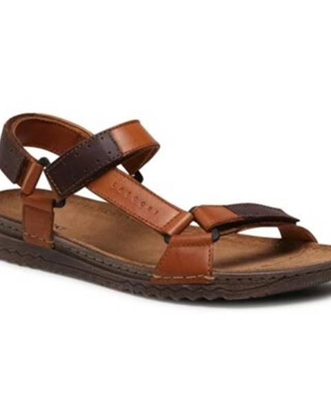 Hnedé sandále Lasocki for men