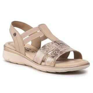 Sandále  WI16-INES-03 Prírodná koža(useň) - Nubuk