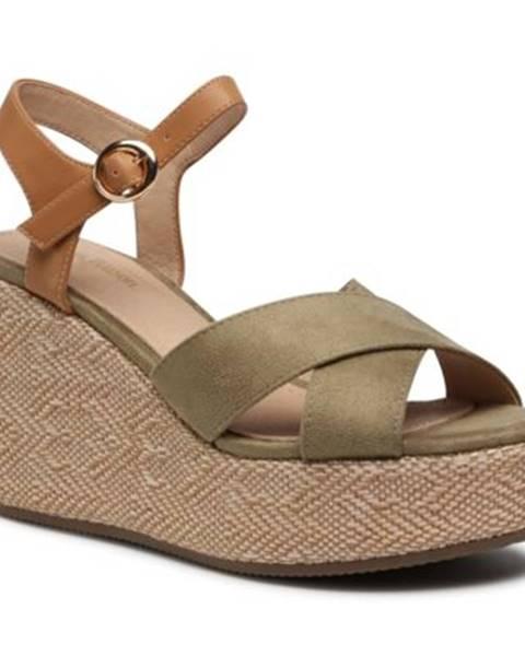 Zelené sandále Clara Barson