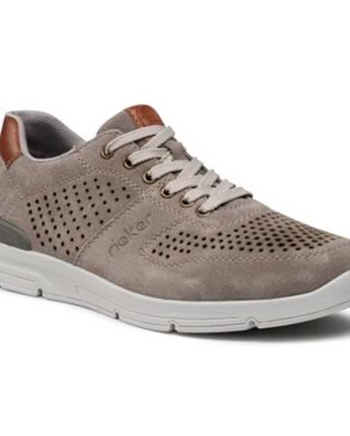 Šedé topánky Rieker