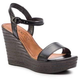 Sandále  15897-01 Prírodná koža(useň) - Lícova