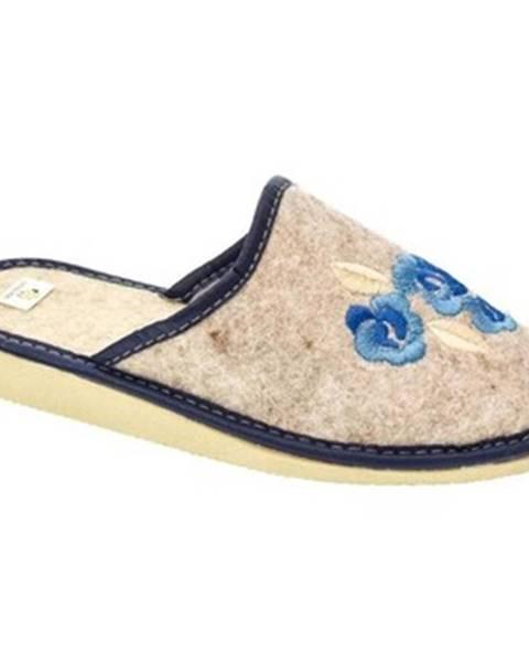 Modré papuče John-C