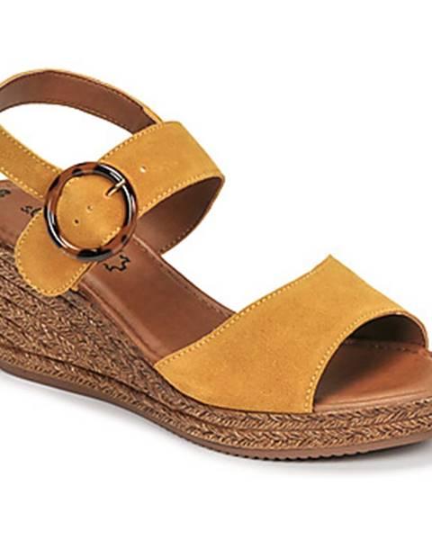 Žlté sandále S.Oliver