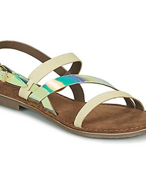 Biele sandále Metamorf'Ose