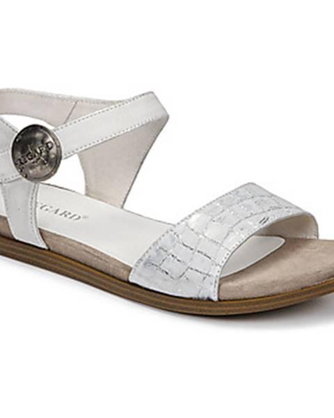 Strieborné sandále Regard