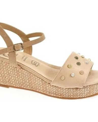 Béžové sandále Kylie