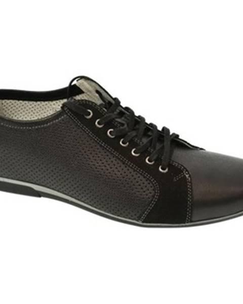 Čierne topánky Basso Lavagio