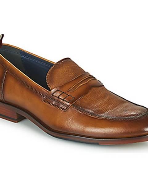 Hnedé topánky Azzaro