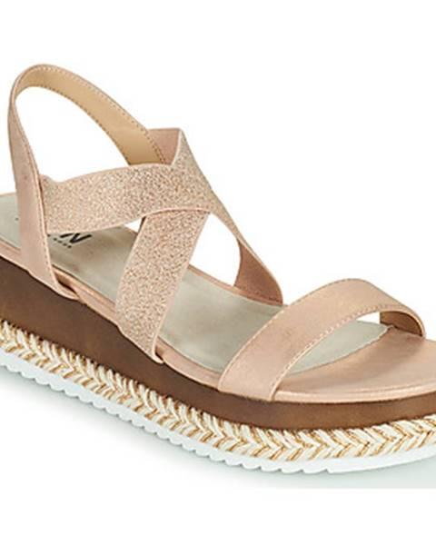 Ružové sandále Elue par nous