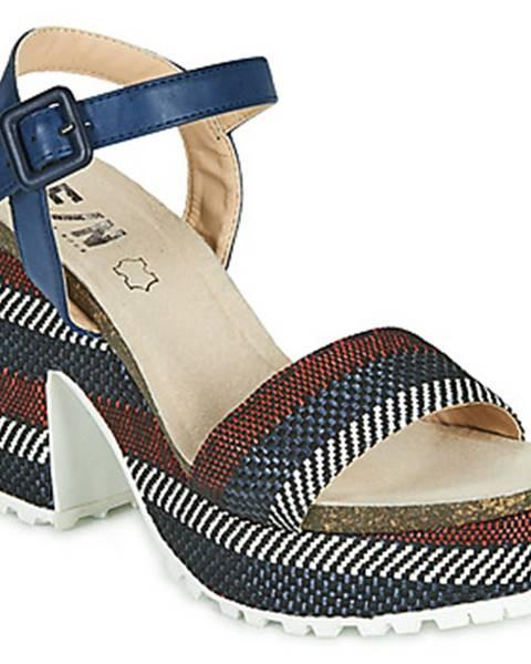 Modré sandále Elue par nous
