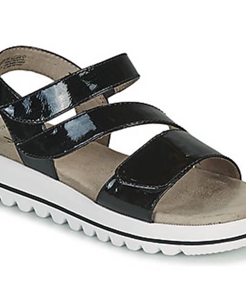 Čierne sandále Jana