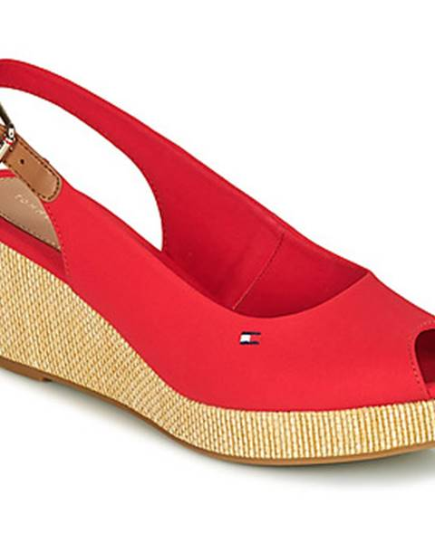 Oranžové sandále Tommy Hilfiger
