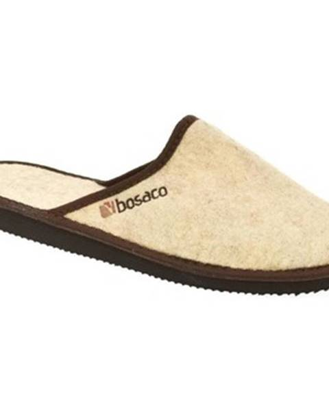Béžové papuče Bins