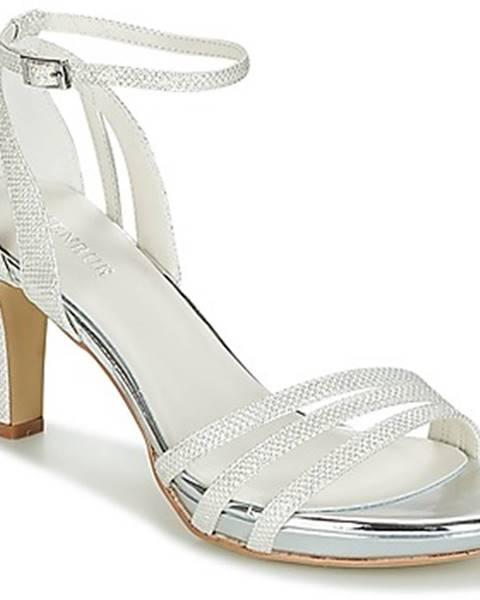 Biele sandále Menbur