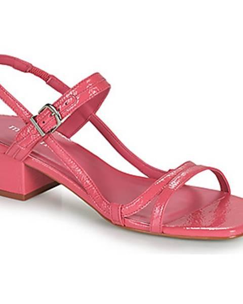 Ružové sandále Minelli