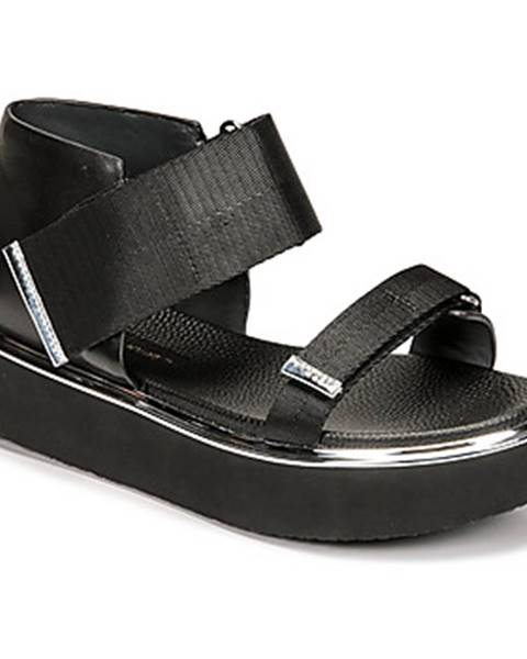 Čierne sandále United nude