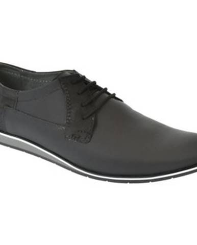 Čierne topánky Krezus