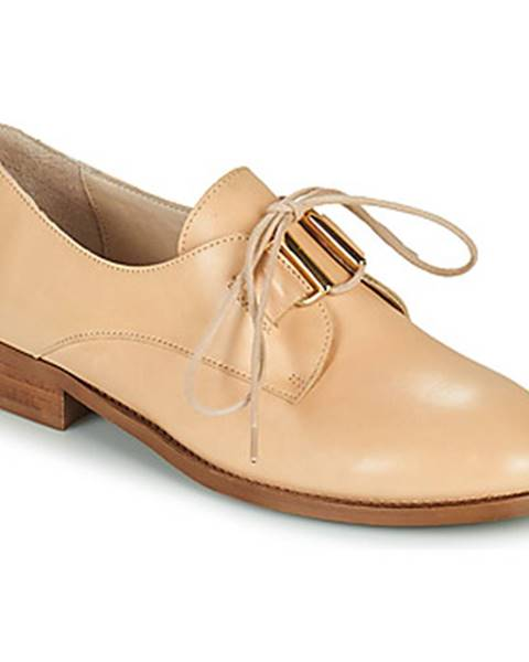Béžové topánky San Marina