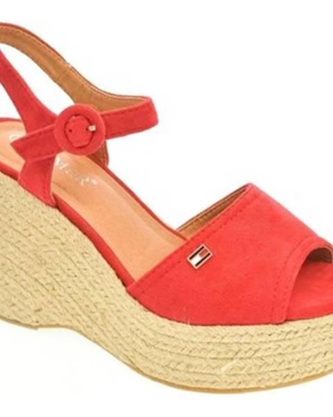 Červené sandále Comer