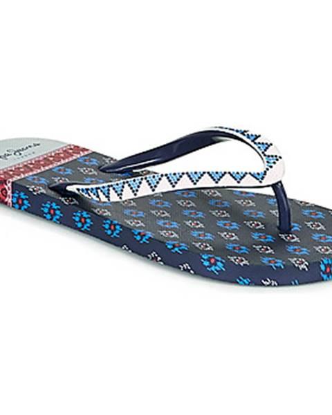 Modré topánky Pepe jeans