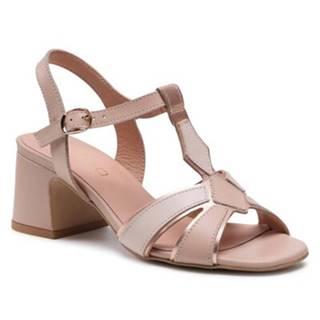 Sandále Lasocki 2051K-08 Prírodná koža(useň) - Lícova