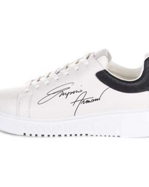 Biele tenisky Armani