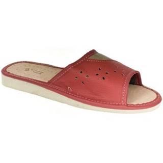 Papuče  Dámske červené papuče MARGA